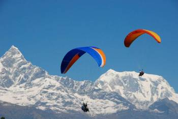 Trekking and Paragliding
