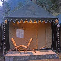 Luxury swiss tent in rishikesh Tour