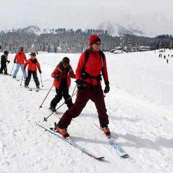 Gulmarg Skiing  4 Nights 5 Days Package