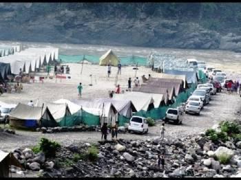 Camping in Rishikesh Tour