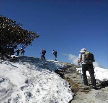 Trekking in Chandrashila Trek Tour
