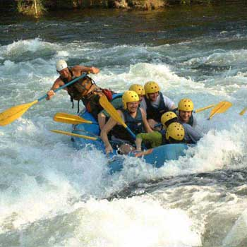 River Rafting And Camping Tour Packages