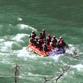 River Rafting in Rishikesh Package