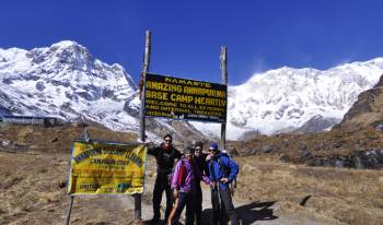 Annapurna Base Camp Trek 11 Nights/12 Days