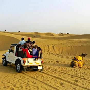 Jeep Safari in Jaisalmer Tour