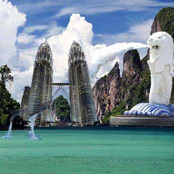 Singapore - Malaysia - Cruise 09Night - 10Days Package