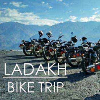 Leh Ladhak Bike Trip 2018 Tour
