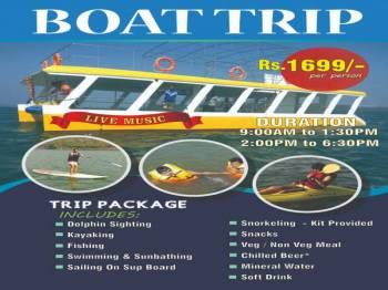 Advanture Boat Trip Half Day Package