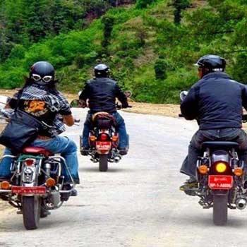 Mountain Biking and Motor Bike Tour Discover Bhutan