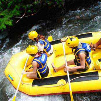 1 Night 2 Day Rafting Package