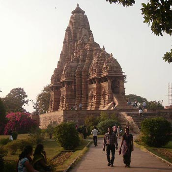 Khajuraho National Park Of Panna At The Hearth Of The Hindu Spirituality And Of The India Wild Life