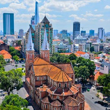 Saigon City - Caodai - Cuchi - Mekong Delta  5 Days/4 Nights Tour