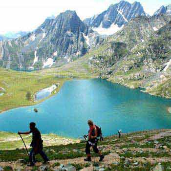Trekking in Kashmir with C Himalaya Package