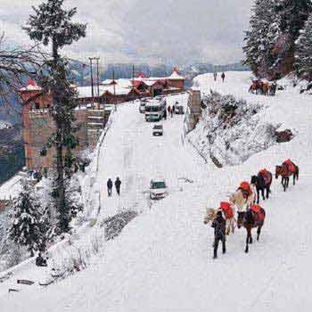 Shimla, Manali and Chandigarh 2 Star Package