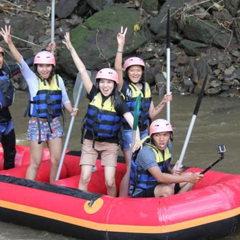 Ayung River Rafting Adventure with Lunch Tour