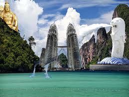 Bali with Singapore Malaysia Tour