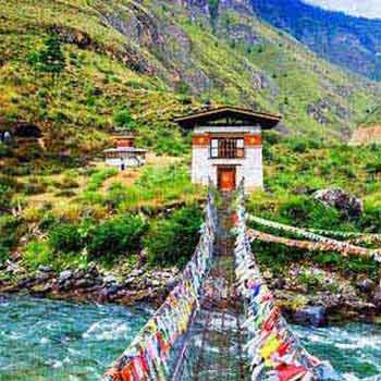 A Journey To Bhutan The Land Of Thunder Dragon 4Night/5Days Extn. Bangkok/Singapore