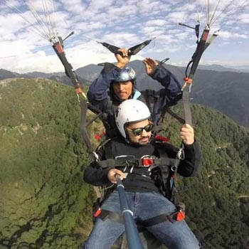 Paragliding and Staying in Bir Billing Tour