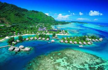Tahiti Honeymoon Luxury Package (7n/8d), (tahiti 2n/...