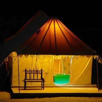 Deluxe Tent With Package
