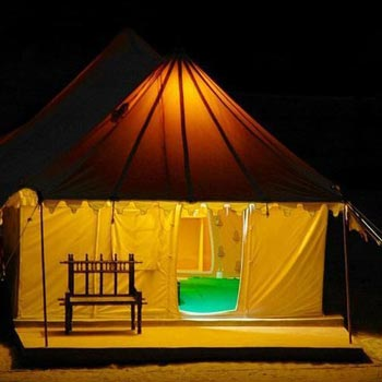 Deluxe Tent With Breakfast Tour