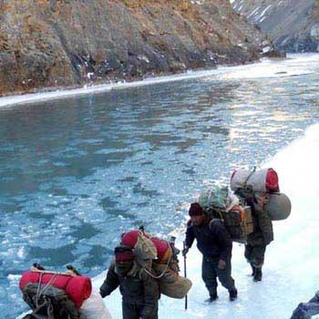 Chadar Trek Frozen River Zanskar Trek Winter Trek - 10 Nts / 11 Days Tour