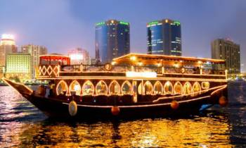 Dubai City Tour - Dhow Cruise - Creek
