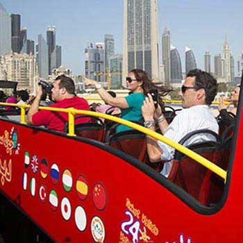 Ferrari World - Yas Water World Bronze - 1 day Tour