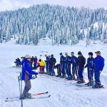 Gulmarg Ski School Tour