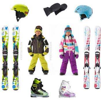 Skiing Equipment On Rent Tour