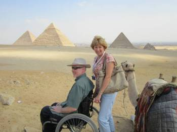 Cairo & Giza Pyramids for Handicapped Wheelchair Tour Package