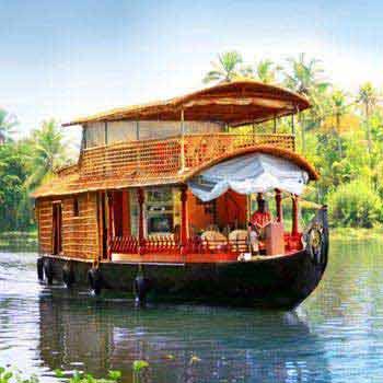 Romantic Kerala Backwaters Tour Package