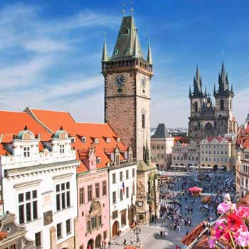 Prague, Vienna and Budapest Tour
