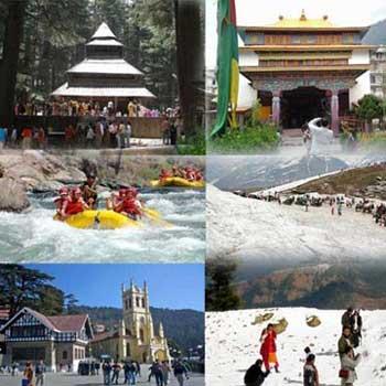 Shimla - Kullu - Manali Trip Tour