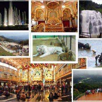Banglore – Mysore - Ooty – Kodai Tour