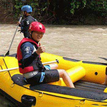 Kadamaian Water Rafting & Mt. Kinabalu 1 Day Tour