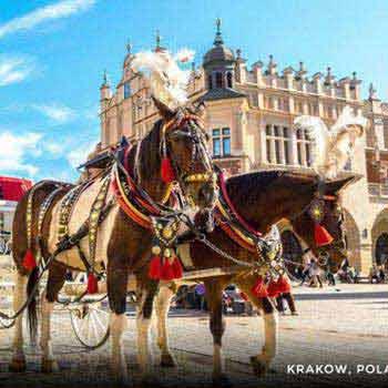 Poland, Prague, Austria & Budapest Tour