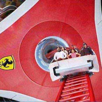 Abu Dhabi + Ferrari World Tour