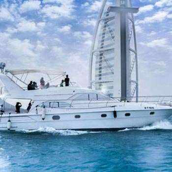 Dubai Yacht Rental Tour