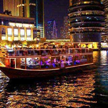 Dubai Marina Dhow Cruise tour