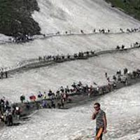 Jammu - Srinagar - Amarnath Darshan - Srinagar - Katra - Jammu With Helicopter Ride Tour