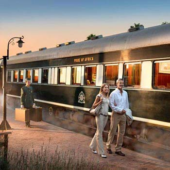Kruger Safari - Cape Town Luxury Rovos Rail Train Tour