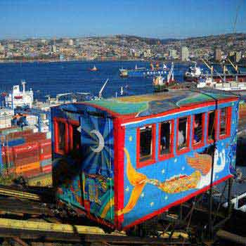 Winelands & Patagonia Self Drive - Valparaiso Tour