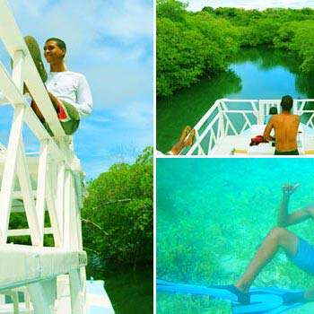 Pirate Trial, Mangrove Canal & Snorkeling Tour