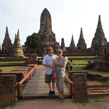 1 Day Ayutthaya World Heritage and River Cruise Tour