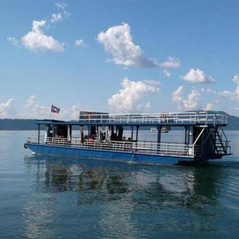 Vientiane City Tour and Nam Ngum River Cruise