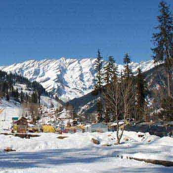Romantic Shimla Kullu Manali Honeymoon Package