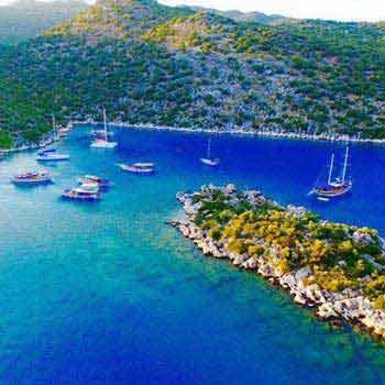 Cabin Charter Olympos – Fethiye Tour