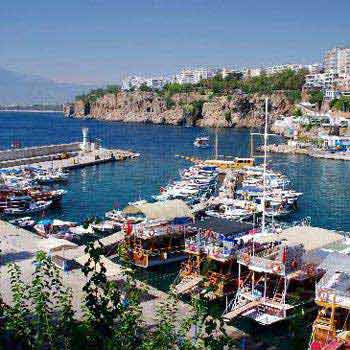 Kaleici Marina Antalya to/from Antalya Airport Package