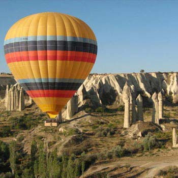Hot Air Balloon Ride Cappadocia – Deluxe Flight Tour